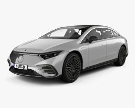Mercedes-Benz EQS AMG-Line 2021 3D model