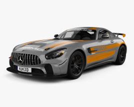 Mercedes-Benz AMG GT4 2020 3D模型