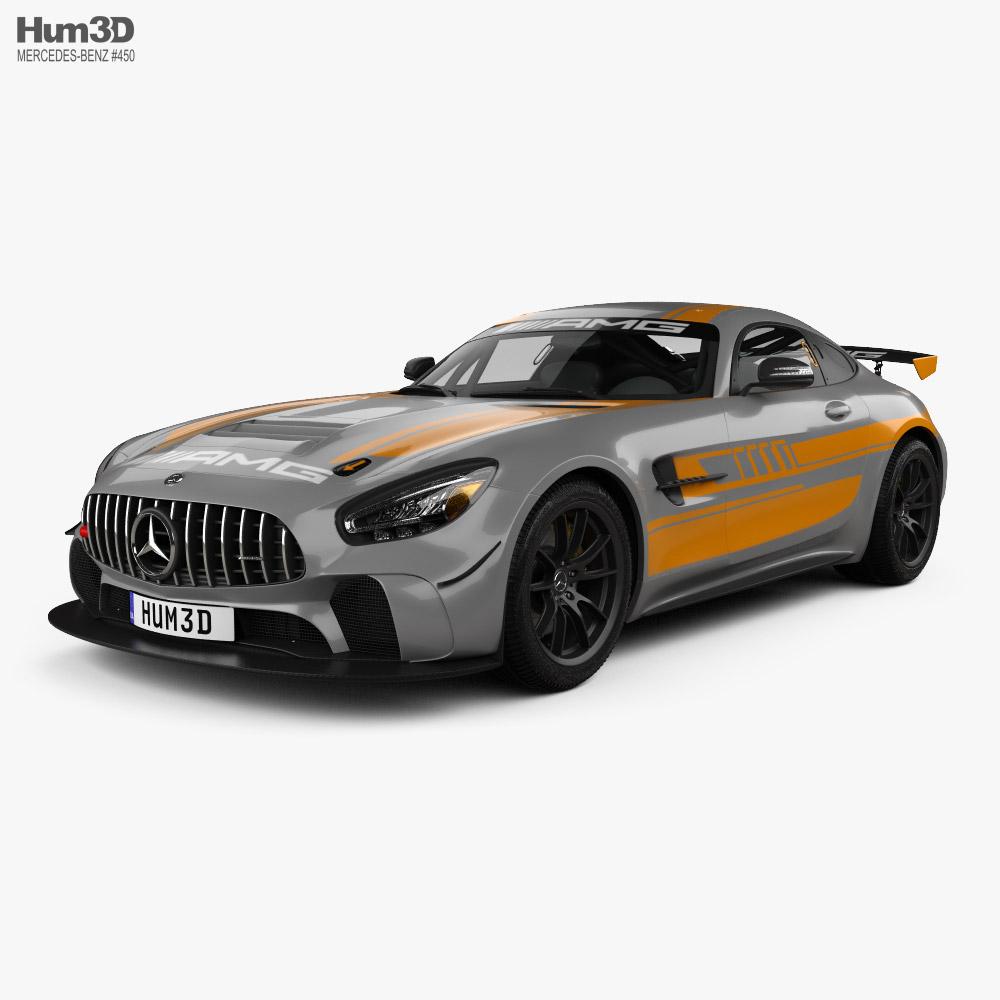 Mercedes-Benz AMG GT4 2020 3d model
