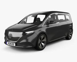Mercedes-Benz EQT 2021 3D model