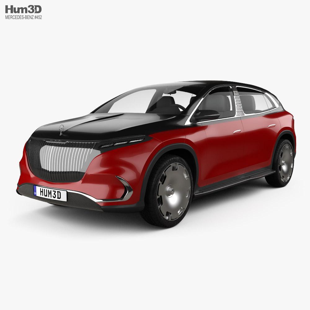Mercedes-Benz Maybach EQS SUV 2021 3D model