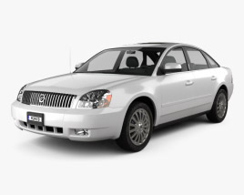 3D model of Mercury Montego 2007
