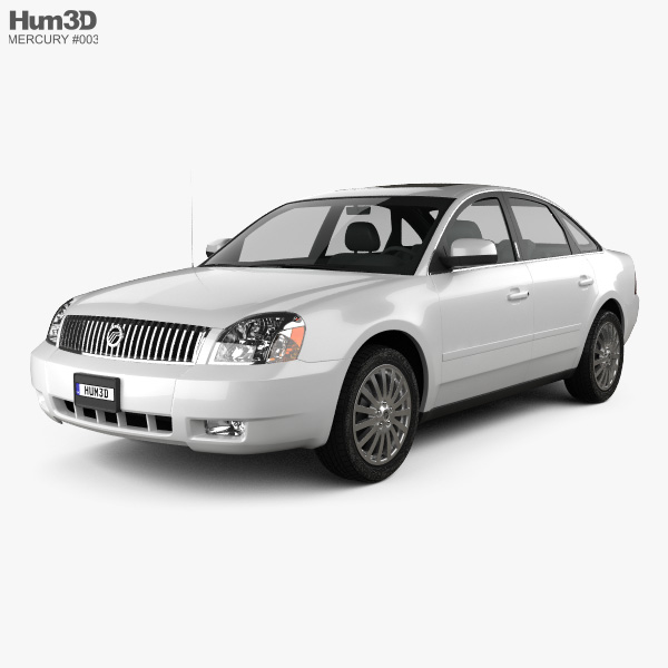 Mercury Montego 2007 3D model