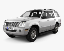3D model of Mercury Mountaineer 2001