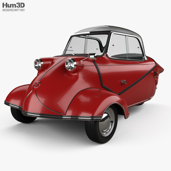 3D model of Messerschmitt KR200 1956