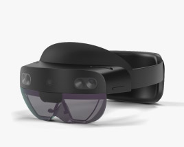 3D model of Microsoft HoloLens 2