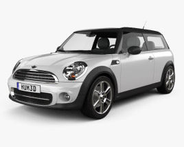 3D model of Mini Cooper clubman 2011