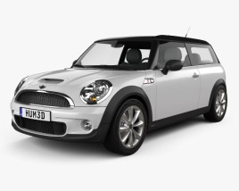 3D model of Mini Cooper S Clubman 2011