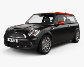 3D model of Mini John Cooper Works Clubman 2011