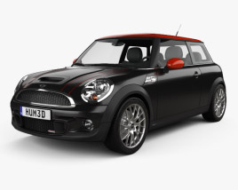 3D model of Mini John Cooper Works 2011