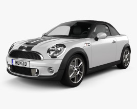 3D model of Mini Cooper S roadster 2013
