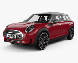 3D model of Mini Clubman Concept 2015