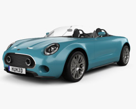 3D model of Mini Superleggera Vision 2014