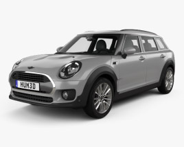 3D model of Mini Cooper Clubman D 2016