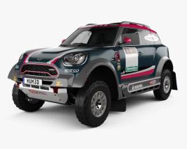 3D model of Mini John Cooper Works Rally 2017