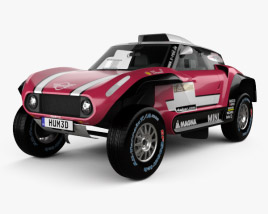 3D model of Mini John Cooper Works Buggy 2018