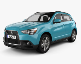 3D model of Mitsubishi ASX 2011