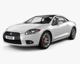 3D model of Mitsubishi Eclipse 2012