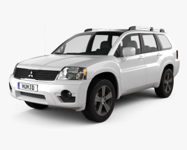 3D model of Mitsubishi Endeavor 2012