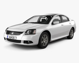 3D model of Mitsubishi Galant IX 2012
