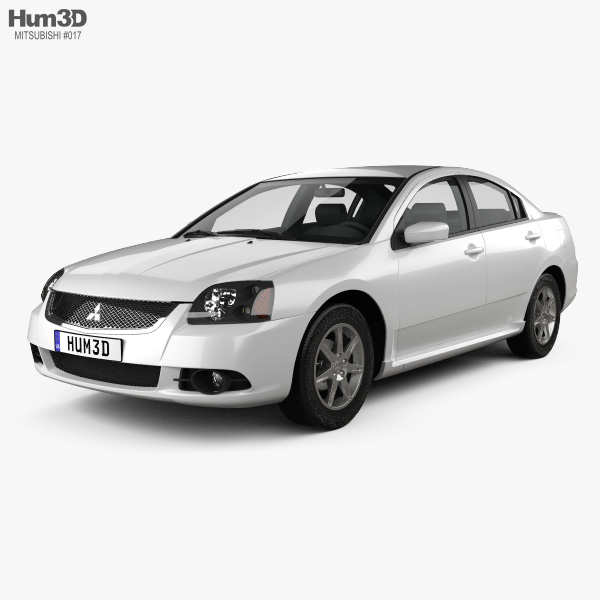 Mitsubishi Galant IX 2012 3D model