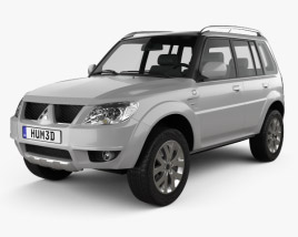 3D model of Mitsubishi Pajero TR4 2012