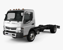 Mitsubishi Fuso Chassis Truck 2013 3D model