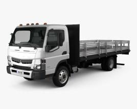Mitsubishi Fuso Flatbed Truck 2013 3D model