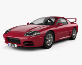 3D model of Mitsubishi 3000GT 1999