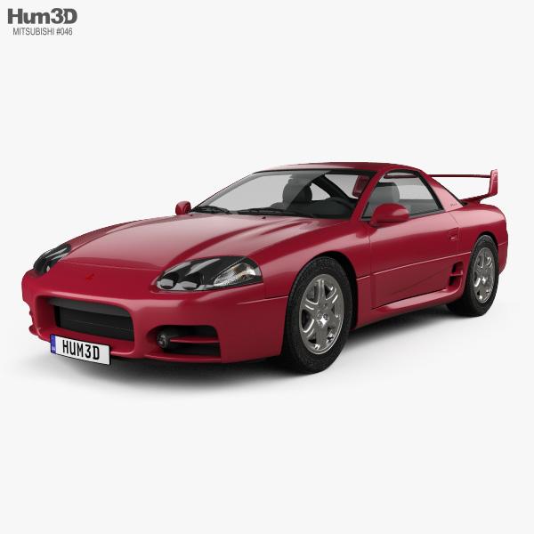 Mitsubishi 3000GT 1999 3D model