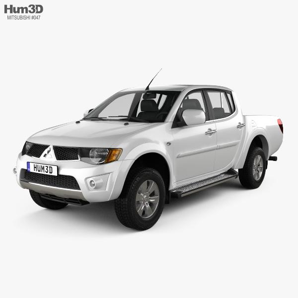 Mitsubishi L200 Triton Double Cab 2012 3D model
