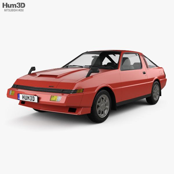 Mitsubishi Starion Turbo GSR III 1982 3D model