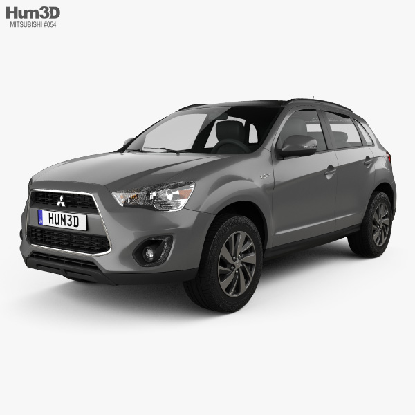 3D model of Mitsubishi ASX (RVR) 2013