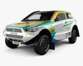 3D model of Mitsubishi ASX Dakar Racing 2014