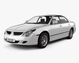 3D model of Mitsubishi Diamante 2004