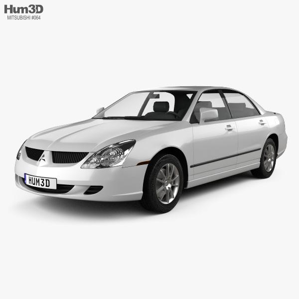 Mitsubishi Diamante 2004 3D model