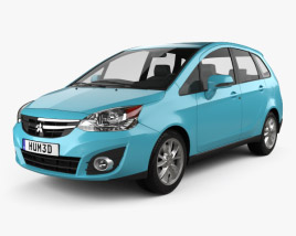 3D model of Mitsubishi Colt Plus (TW) 2013