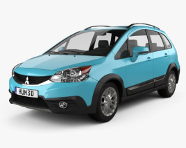 3D model of Mitsubishi Colt Plus X-Sports (TW) 2015