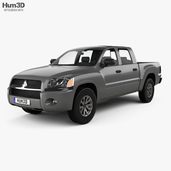 Mitsubishi Raider Double Cab 2005 3D model