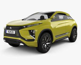 3D model of Mitsubishi eX 2015