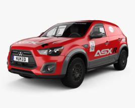 3D model of Mitsubishi ASX R 2015