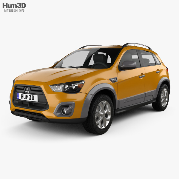 3D model of Mitsubishi ASX Outdoor 2015