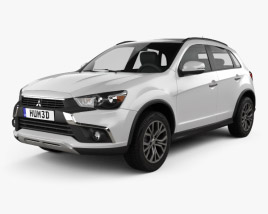 3D model of Mitsubishi Outlander Sport 2016