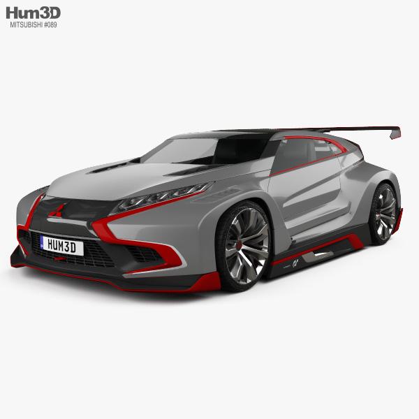 Mitsubishi XR-PHEV Evolution Vision Gran Turismo 2016 3D-Modell
