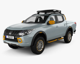 3D model of Mitsubishi L200 Geoseek 2016