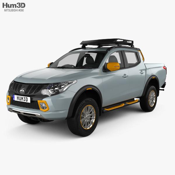 Mitsubishi L200 Geoseek 2016 3D model
