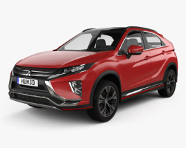 3D model of Mitsubishi Eclipse Cross 2017