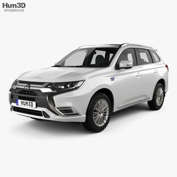 Mitsubishi Outlander PHEV 2018 3D model