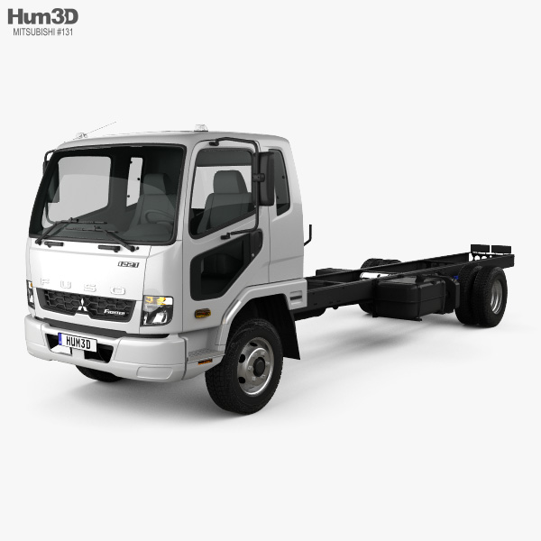 Mitsubishi Fuso Fighter (1227) Chassis Truck 2017 3D model