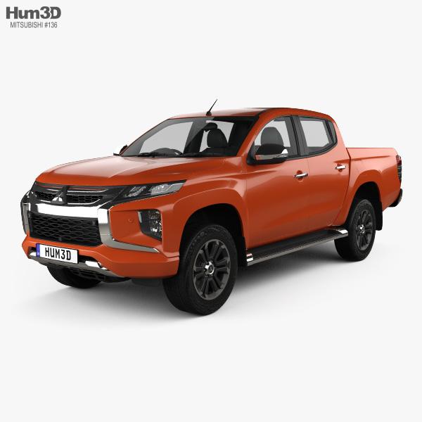 Mitsubishi Triton Double Cab 2019 3D model
